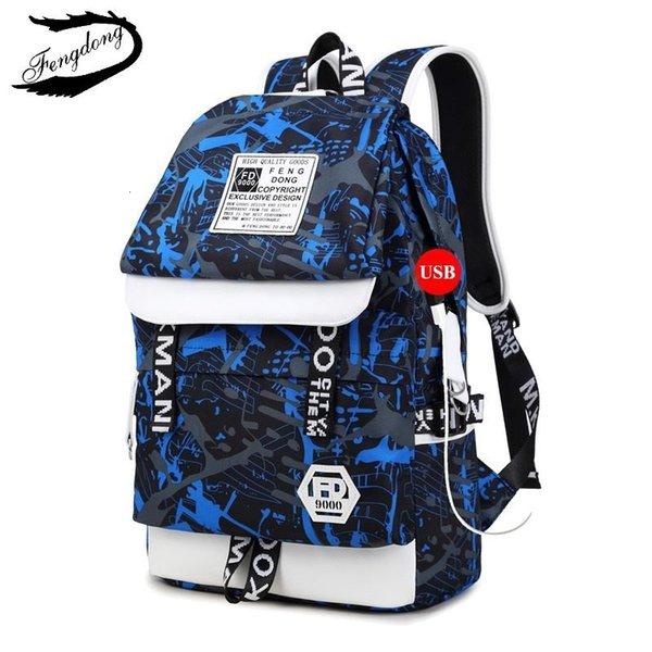 Mavi chun çantası