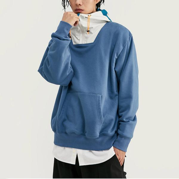 Toptan Tasarımcı Hood Kazak Hırka Gevşek Hoodie Üst Kalite B101649V ile Marka Kapüşonlular Womens Streetwear Stil Tişörtü