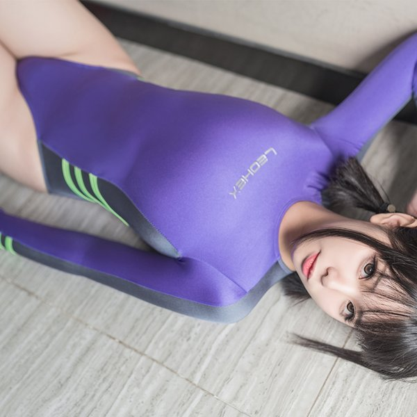 Costumes japonais cosplay pour les femmes sportives maillot de bain scolaire une pièce sexy corps costume filles C18122801