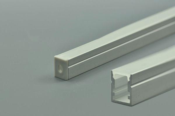GY035 Canal LED Super Slim LED Perfil (LxA): 8,4 mm x 10 mm 1 metro (39,4 polegadas) LED Strip Channel