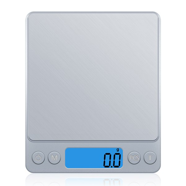 best selling Digital Kitchen Scale Mini Pocket Stainless Steel Precision Jewelry Electronic Balance Weight Gold Grams(3000gx0.1g)