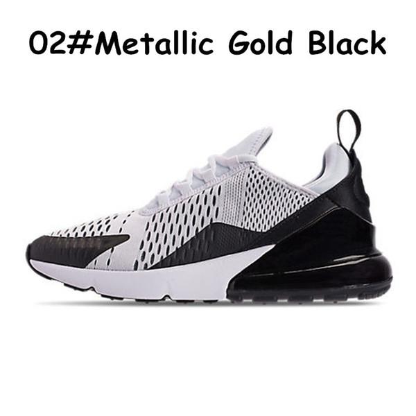 02 Metallic Gold Black