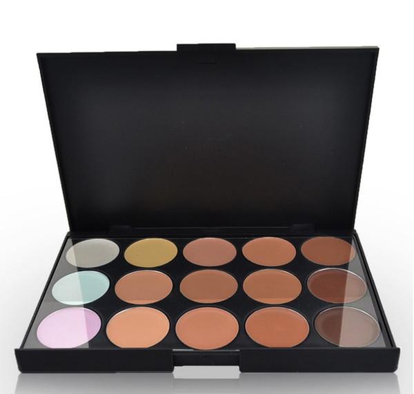 2019 Professional 15 Color Concealers Makeup Cream Care Camouflage paletas contour palette Cosmetic Facial Foundation Nautral