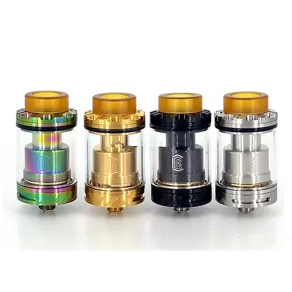 Reload RTA Tank 24mm Diameter with Postless Deck Design Top Fill System fit 510 Vape Mod