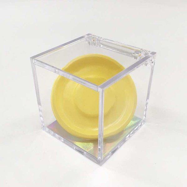 yellow cube box