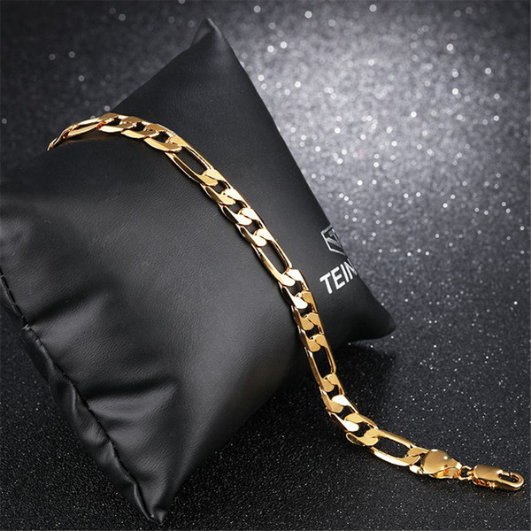 Charm Chain Bracelet Stainless Steel Korea Trendy Jewelry Friendship Gift Classic Party Accessories For Men 157