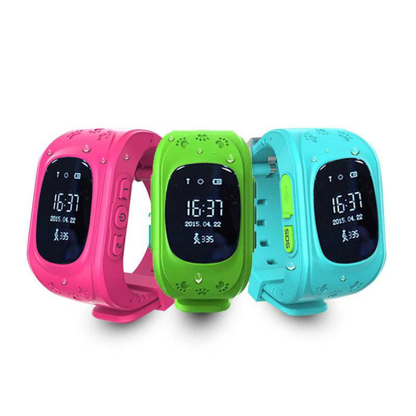 tianqi kids smart watches kids watches q50 tracker kids safety watch LBS location support SIM card for IOS Android phone FREE dhl