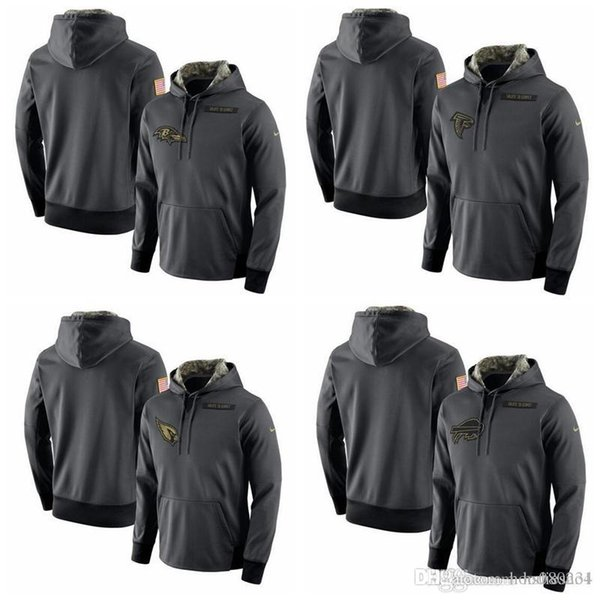 newest effdb 71b8f 2019 Buffalo Bills Baltimore Ravens Atlanta Falcons Cardinals Salute To  Service Player Performance Hoodie From Hxxy88, $31.48 | DHgate.Com