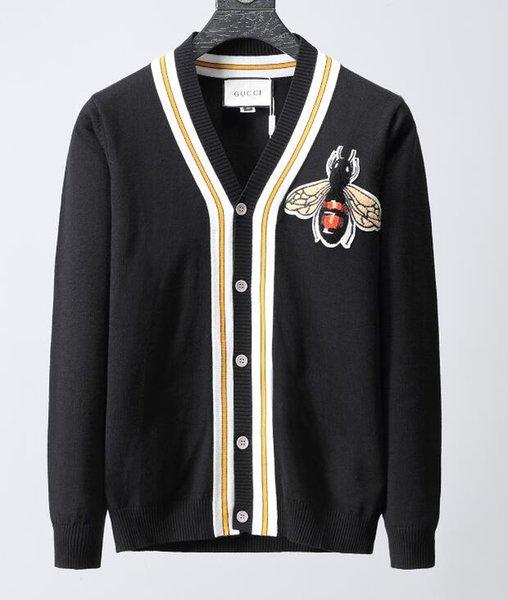 2019, новый высококачественный европейский свитер GC осенне-зимний кардиган мужская и женская одежда партии серии письмо повседневная куртка