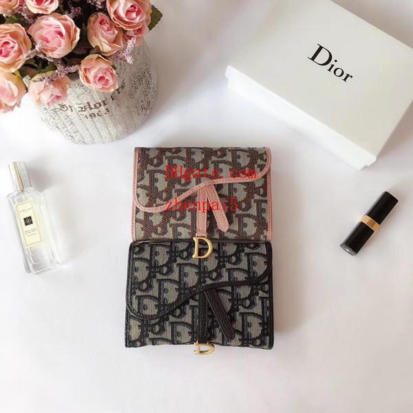 Brieftaschen Neue Trend Stil Marke Brieftasche Mode Männer Frauen Mini Geldbörse Kartenhalter Multi-Karte offene Karte Geldbörsen D-4
