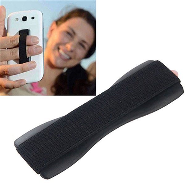 Aperto de dedo Elastic Band Strap Suporte Universal para telefones móveis Tablets Anti derrapante