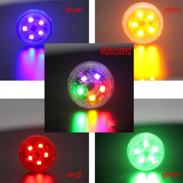Porta luz de advertência Anti-cauda-tracing luz fiação gratuito strobe LED modificação Collision