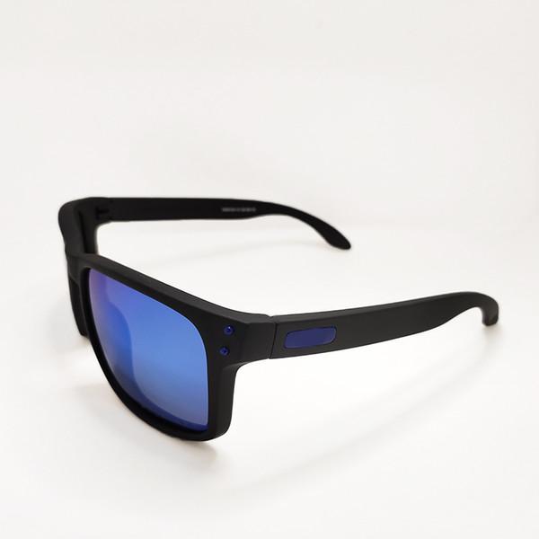 Matte frame blue lens