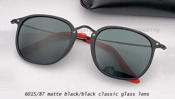 601S87 matte black/black classic