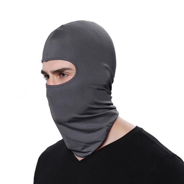 Solido Colore antipolvere Uomini Donne tattico del motociclo in bicicletta Caccia esterna di sci della maschera di protezione maschera casco integrale