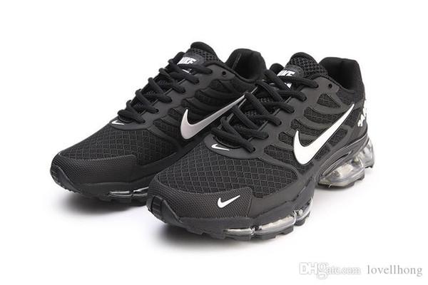 Size 13 New Tn Plus Men Running Shoes Mens Trainers KPU Material air Cushion Tn Sports Sneaker Chausseures Homme noir Zapatillaes