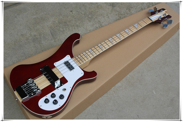 top popular 4 Strings 4003 Electric Bass Guitar with Body Binding,Maple Fingerboard,Chrome Hardware,Can be customized 2021