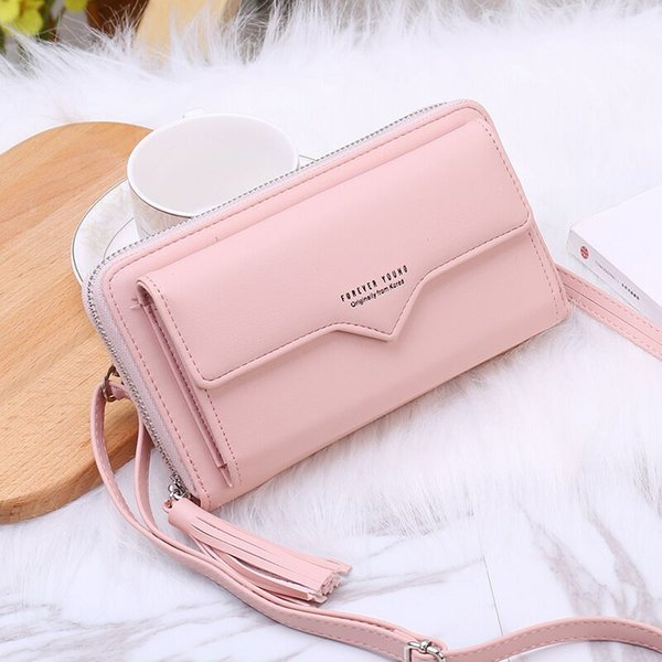 Fashion Crossbody Bag For iPhone 8 Plus Case Women PU Leather Case For iPhone XS XR X 8 7 6S Plus Smart Phone Shoulder Bag EEMIA