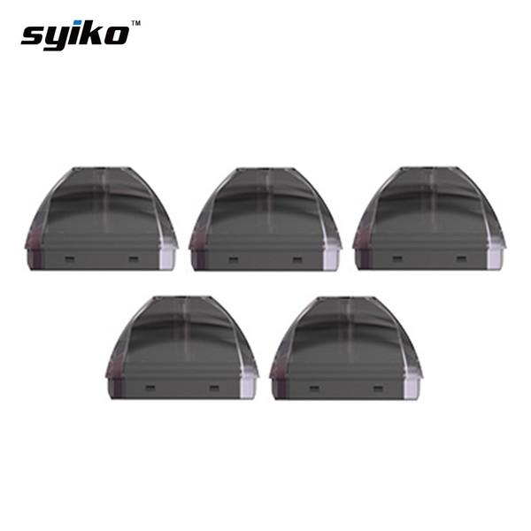 5 pcs Syiko SE Cartucho de Pod 2 ml para Syiko SE Pod Starter Kit 2.0 ml Syiko SE Tanque Atomizador suave sabor vape