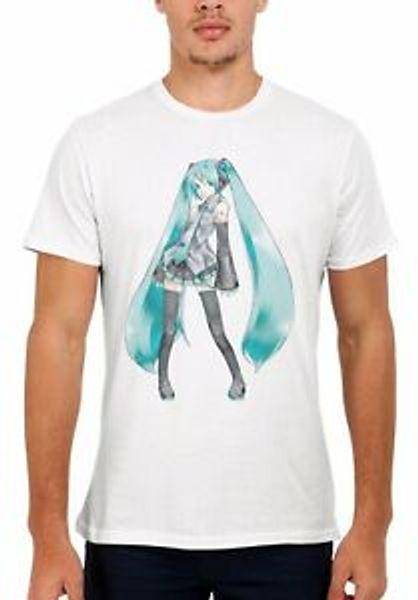 Hatsune Miku Violet Manga Anime Cool Hommes Femmes Débardeur Débardeur Unisexe T Shirt 151E