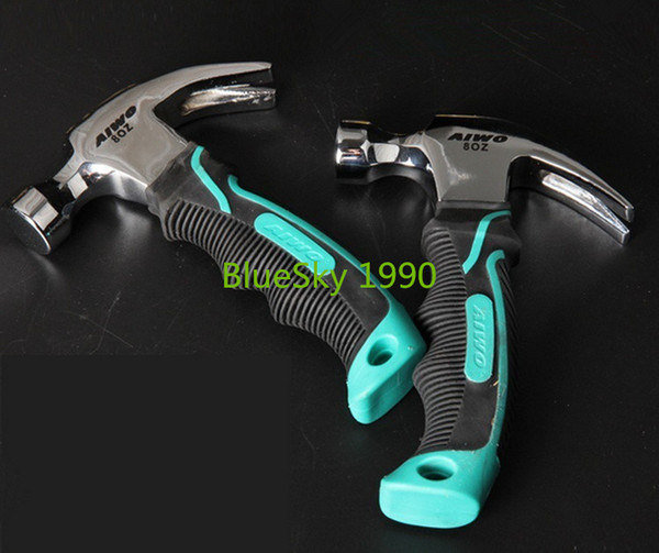 best selling Round head plastic handle Magnetic claw hammer For woodworking and Electronic tool mini hammer rubber hammer tool