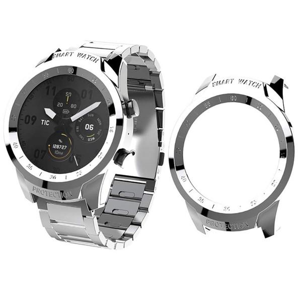 2PCS Сверхтонкий гальванических обложка чехол Прозрачный PC для Ticwatch Pro Часы Protector Смарт часы Защитные аксессуары # LR4