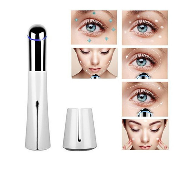 New Portable Electric Eye Massager Health Care Remove Wrinkles Dark Circles Machine Beauty Instrument Tighten Skin C18112601