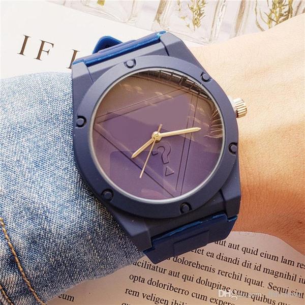Amerikanische Marke Gues Band Uhr heiße Stil Studentenuhr High Quality Brand minimalistische Uhr Männer und Frauen Sport Uhren Rabatt orologi Relo
