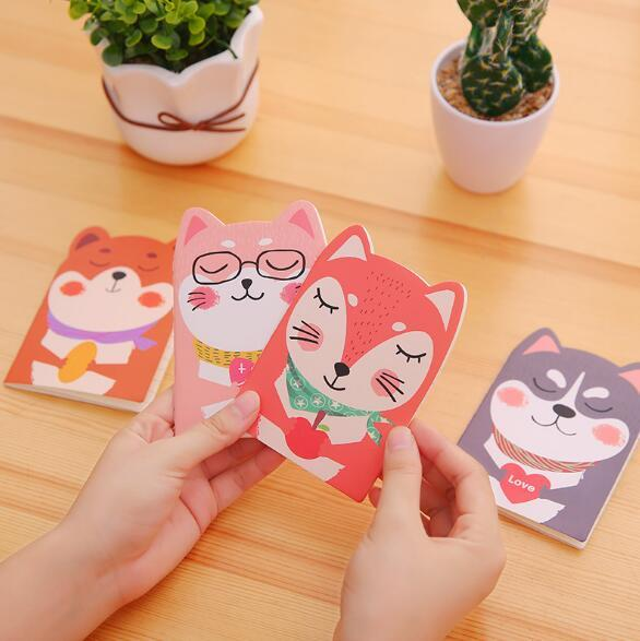 Creative Cartoon Notepad Mini Portable Notebook Student Stationery Prize Small Book Wholesale Activity Creative Fashion Notes