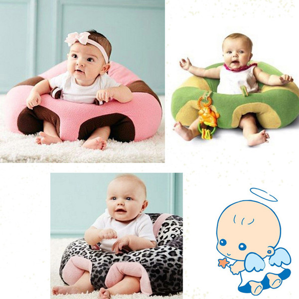 best selling New Cartoon Baby Seats Sofa Baby Furniture Support Sit Posture Seat Comfortable Sofa 0-3 Years Kid Learn Eating Plush Soft Chair