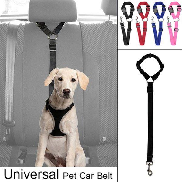 Cintura di sicurezza per animali domestici Cintura di sicurezza per cani auto per gatti regolabile Cintura di sicurezza per veicoli Cintura di sicurezza per veicoli, realizzata in tessuto di nylon