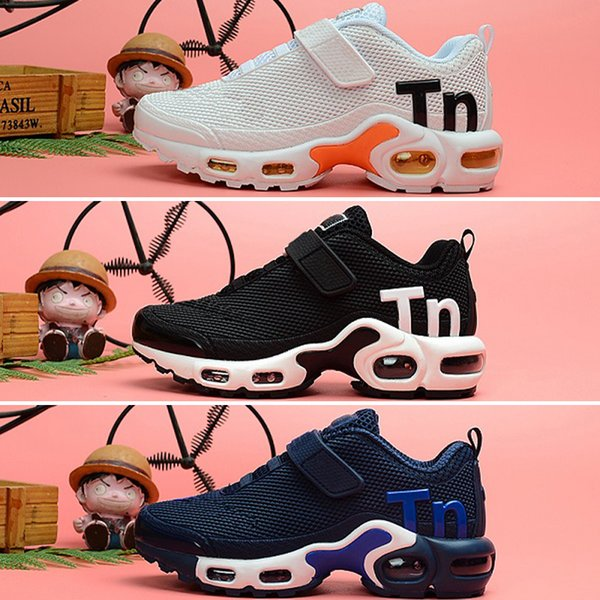 Nike Mercurial Air Max Plus Tn 2019 niños pequeños de diseño Mercurial TN Transpirable tn Plus Rainbow Mesh Running Sneakers tns children pour enfants Entrenadores deportivos