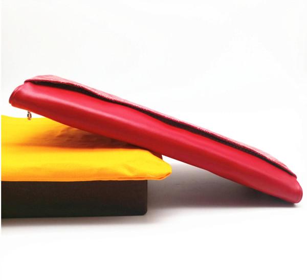 Роскошные дизайнер высокое качество известная Мужчины Женщины клатч из холщовой ткани с покрытием из натуральной кожи-Сен-Мари двойные клатч портмоне сумки
