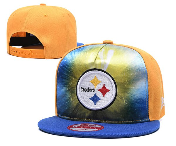 Top Fashion Men Women Sports Hat Embroidered Letters Steelers Gradient Visor Sun Baseball Cap Snapback Hip Hop Adjustable Hats