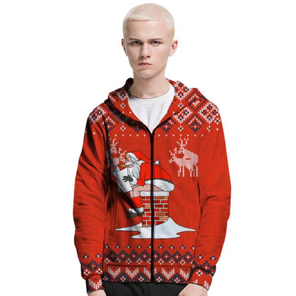 Mens Christmas Fashion 2020 2020 Fashion New Mens Christmas Hoodies Mens 2019 2020 Christmas