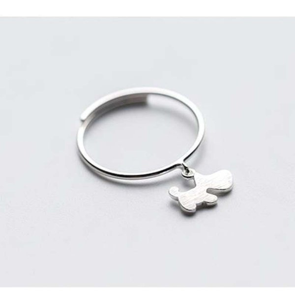925 Sterling Silver Plated Resizable Toe Ring Pinkie Women/'s Jewellery Ladies
