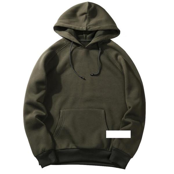 NIBESSER 2018 Casual Autumn Mens Hooded Hoodies Fashion Sweatshirt Loose Tracksuit Tops Men Brand Hoodies Solid Hoody Sweatshirt