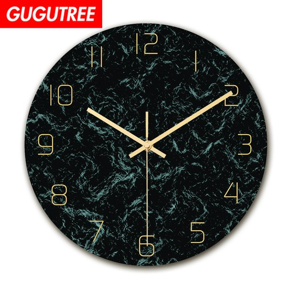 Decorate Home 3D number mirror clock art wall sticker decoration Decals mural painting Removable Decor Wallpaper G-122