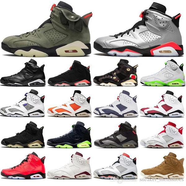 with socks fashion air jordan retro bred 6 basketball shoes psg 6s unc black blue white infrared men oreo sport sneakers 40-47