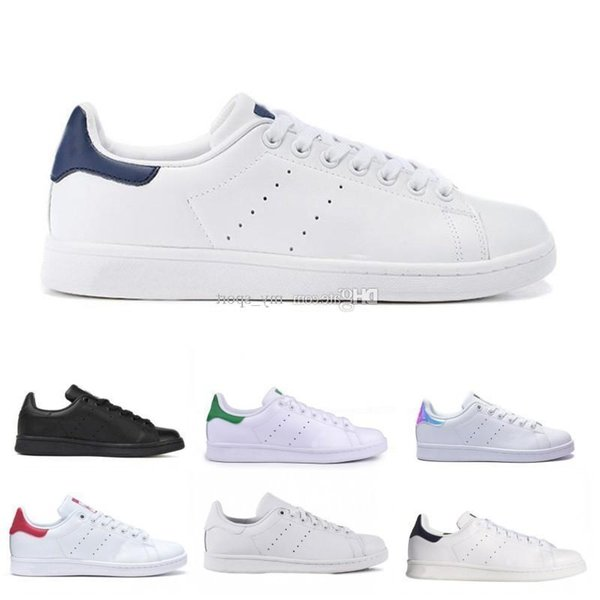 newest bac90 86d2d 2019 Sell 2019 New Originals Stan Smith Shoes Cheap Women Men Casual  Leather Sneakers Superstars Skateboard Punching White Blue Stan Smith Shoes  From ...