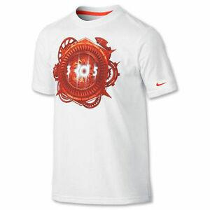 Shirt KD KEVIN DURANT Men 039 s T Shirt White Orange Style 575452 NEW NWT