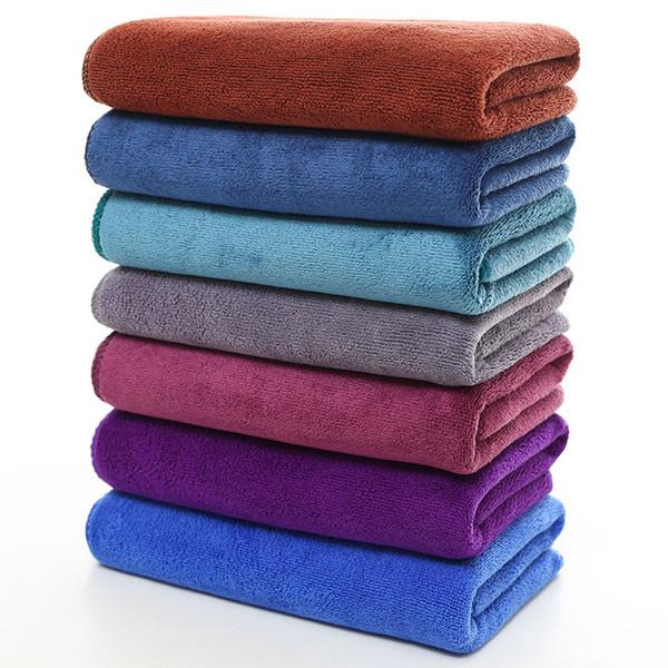 Asciugamano per capelli in microfibra 35X75CM assorbente addensante pulizia auto barbiere speciale articoli da toeletta per la casa morbidi e confortevoli