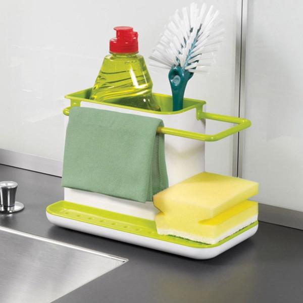 practical multifunctional storage racks kitchen shelf kitchen cleaning tools Storage Boxes & Bins