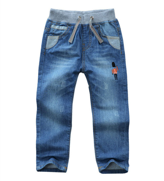 Baby boys Toddler kids Jeans Long Trousers Cotton Denim Pants for Spring Autumn Clothes 2T 3T 4T 5 6 8 9 Years Old Boy Children