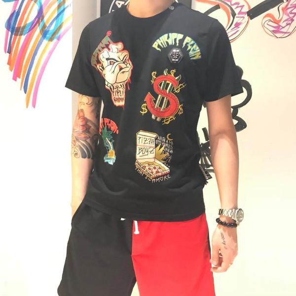 2019 verano nuevos hombres camiseta manga corta ls1962105621