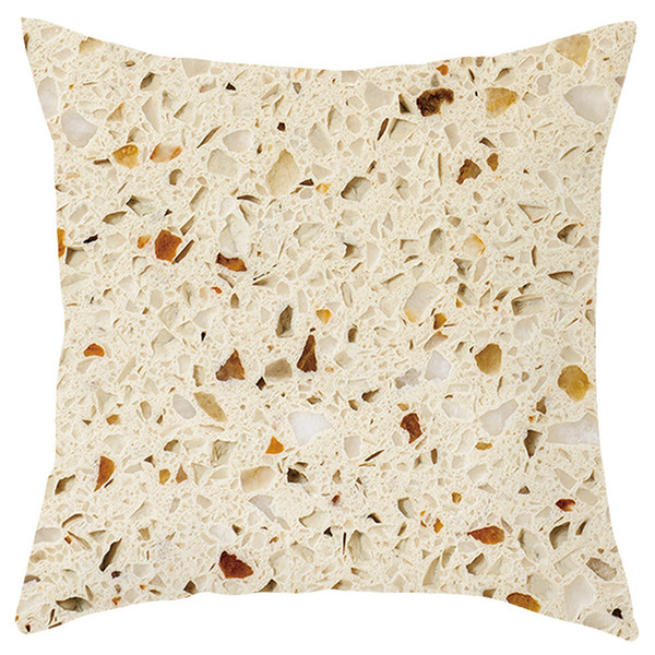 Pillow Case Gourmet short plush pillowcase sofa cushion set home decoration W610