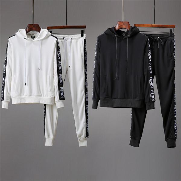 HYC Automne et Hiver Hommes Survêtement mode confortable Deux pièces de costume original Design Qualité parfaite Awqqw