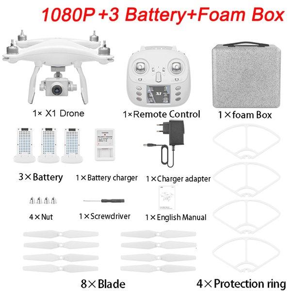 1080P 3 Batteries