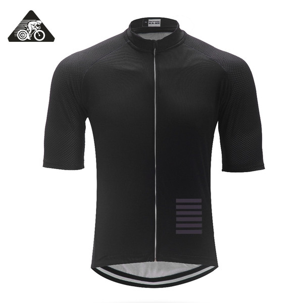 Classic ALL Black Italy Miti fabric Mens PRO TEAM AERO Race Cycling Jersey Road Mtb Short Sleeve Bicycle Shirt bike gear 2018