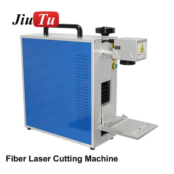 LCD Reparatur Tragbare Mini CNC Faserlaserbeschriftungsanlage Für Metallgravur DIY Jiutu